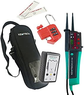 Kewtech KT1780 Voltage /& Continuity Tester MCB//RCD Lock Out//Off Kit LOS-K1