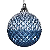 Vickerman 552780-10' Periwinkle Glitter Candy Durian Ball Christmas Tree Ornament (MT180429)