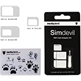MediaDevil Simdevil 3-in-1 SIM Card Adapter