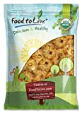 Organic Dried Pineapple Rings — Non-GMO, Unsulfured, Unsweetened, Bulk (by Food to Live) 5 Pounds