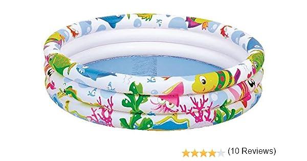 GLOBO, Anillos de la piscina del mar wrold 91diametrox25cm Brazaletes y flotadores Natación y waterpolo Unisex Infantil, color multicolor (multicolor), única (JL017010-3NPF): Amazon.es: Juguetes y juegos