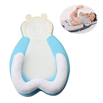 Mr.LQ Almohada para bebés para recién Nacido Almohada de ...