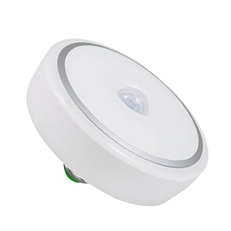 flintronic 12W E27 24 LED Bombilla PIR Sensor de Movimiento Automático Detector de Movimiento LED Luces