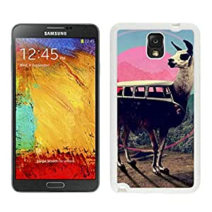 Slim cover case for Galaxy Note 3 Case, Spigen Slim Armor for Galaxy Note 3 - Retail Packaging - Soul White llama Samsung Galaxy Note 3 Case White Cover