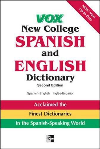 Vox New College Spanish And English Dictionary (VOX Dictionary Series)
