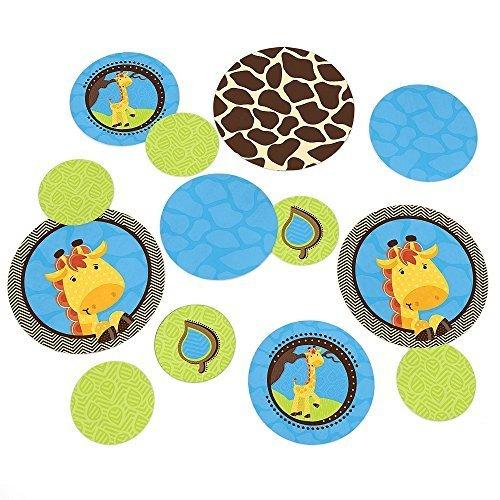 Giraffe Boy - Party Table Confetti - 27 Count [並行輸入品]   B077Y4R38C