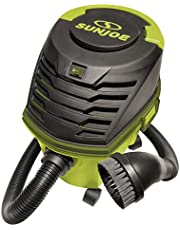Sun Joe SWD2500 2.5 Gallon Ultra-Portable Wheeled Wet/Dry Vacuum w/ Accessories and Extensions
