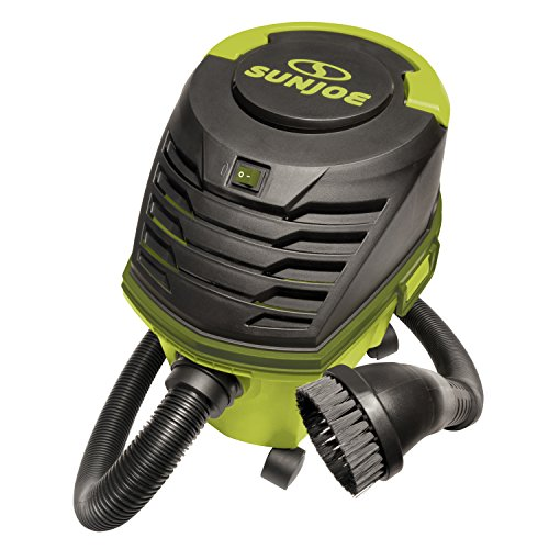 - Sun Joe SWD2500 3.5 HP 2.6 Gallon Ultra-Portable Wheeled Wet/Dry Vacuum w/Accessories and Extensions, Green