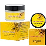 Manuka Honey New Zealand Active Bee Venom Cream 15g + New Zealand Bee Venom Lip Plumper Balm 10g