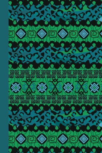 sketch-journal-tribal-pattern-blue-6x9-pages-are-lined-on-the-bottom-third-with-blank-space-on-top-patterns-designs-sketch-journal-series