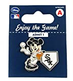MLB Chicago White Sox Disney Pin - Mickey Leaning on Home Base