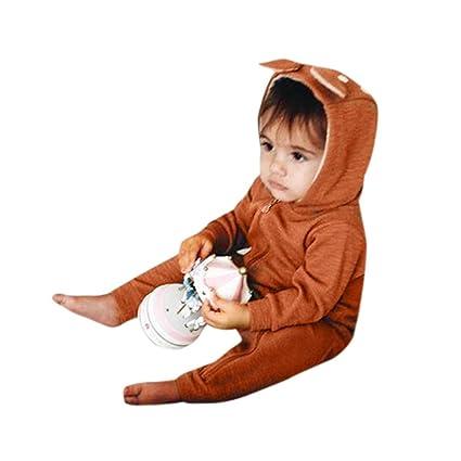 Recién nacido bebé Pelele de dibujos animados mono, yoyoug Fashion y corte en su pequeño