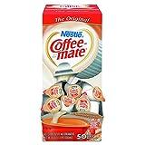 Coffee-mate 35110BX Original Creamer, 0.375 Fl. Oz (50 Count), 18.7 Fl. Oz (Pack of 1)
