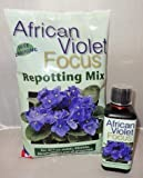 African Violet Repotting Mix 2L and African Violet Focus 300ml