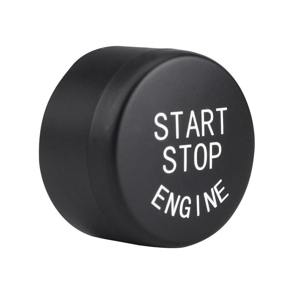 AutoDrucktaster Auto Motor Start Stopp-Taste Z/ündschalter Druckknopf umschalten Schalttaste f/ür F20 F21 F30 F31 F10 F11 F01 F48 F25 F15 F16 Black Drucktaste Start