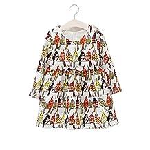 Little Girls Parrot Printed Long Sleeve Wedding Bodice Tutu Dress