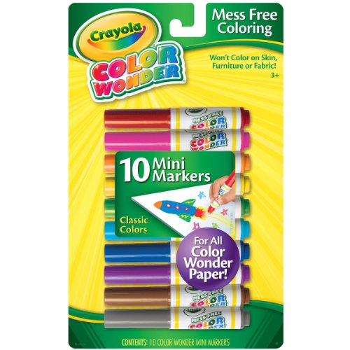 Crayola Color Wonder Mini Markers product image