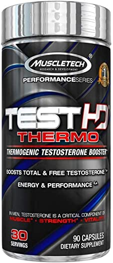 MuscleTech Mt Performance Series Test Hd Thermo, 90 Count