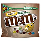#7: M&M'S Peanut Chocolate Candy With Colors From Natural Sources Family Size 19.2-Ounce Bag