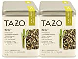 Tazo Zen Green Tea with Lemongrass and Spearmint, 15 Sachets (Pack of 2)