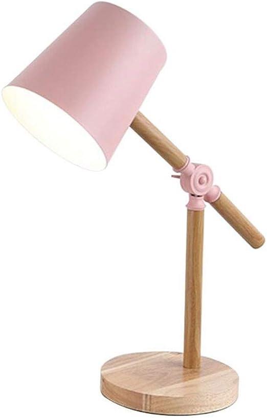 Lámpara de mesa, mesa de noche Lámpara de mesa nórdica lámpara de ...