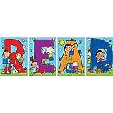 Carson-Dellosa 110124 Bulletin Board''Read'' 4 Charts 18''x28''x.625' Multi Color