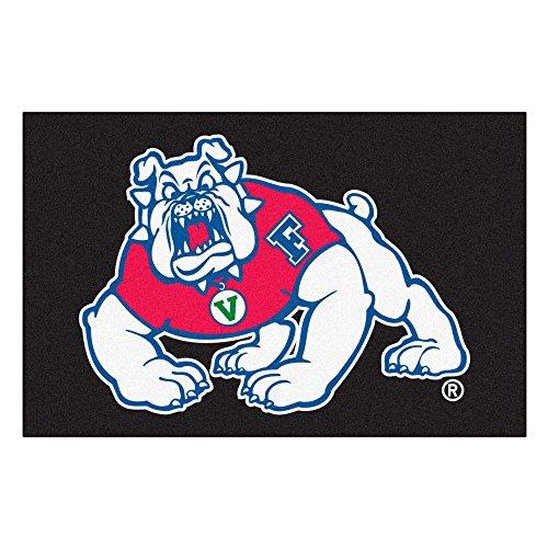 Fresno State University Bulldogs Logo Area Rug (Ulti-Mat)