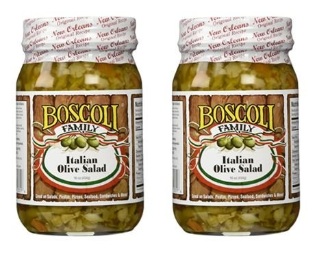 (Boscoli Italian Olive Salad - Small, 15.5 ounce (Pack of 2))