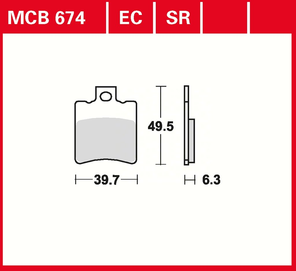 2 Takt Yamaha Neos 50 SA40-4 Takt Aprilia Scarabeo 50 THG Malaguti Centro 50 ZJM42-2 Takt plaquette de freins Lucas MCB674 pour Aprilia Red Rose 50 Classic GI