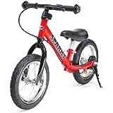 《プロテクタープレゼント》【組立済】【キックスタンド付き】 ブレーキ付ゴムタイヤ装備 ペダルなし自転車 キッズバイク SPARKY スパーキー