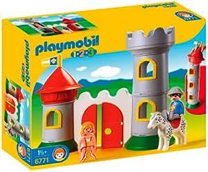 Playmobil 6771 - Castillo 1.2.3: Amazon.es: Juguetes y juegos