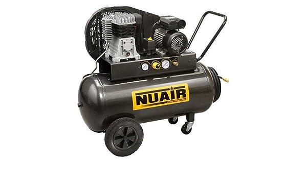 AIRUM - Compresor 3Hp. 100L. Nuair B-2800 B3M: Amazon.es: Bricolaje y herramientas