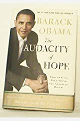 The Audacity of Hope - FIRST EDITION! Hardcover