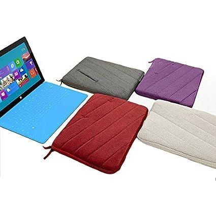epgate-velvet capa de acolchado de espuma antigolpes 11 - 11.6 Inch Laptop/Ordenador portátil/MacBook/MacBook Pro/MacBook Air Funda Maletín Portátil Bolsa ...