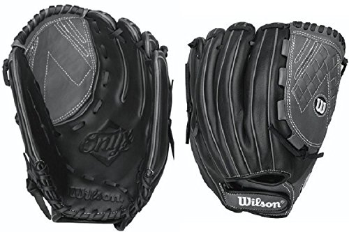 "Wilson WTA12RF16125BLCO 12.5"" Onyx Fastpitch Womens Softball Glove Black/Coal"