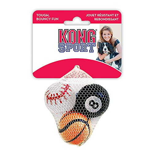 Kong Company 292087 Kong Sport Balls Small Asst (3 Balls)