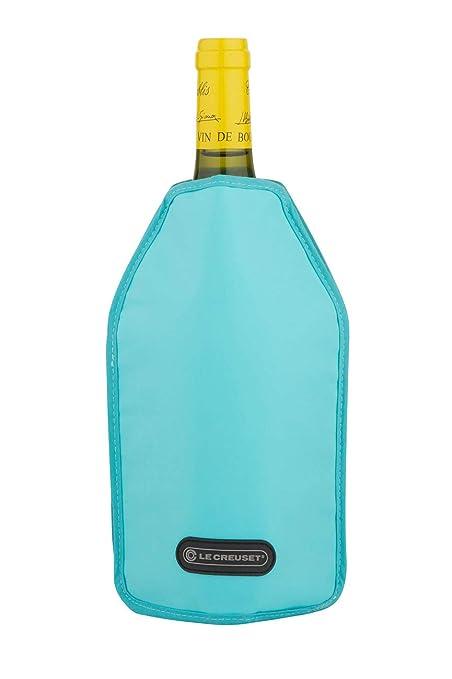 Le Creuset Accesorios de Vino WA-126 - Funda enfriadora, color azul caribe