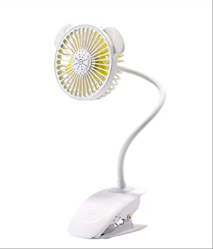 Ventilador USB portátil Flexible con luz LED Controlador de ...