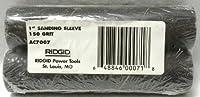 "RIDGID 2-Pack AC7007 1"" Fine Sanding Sleeve 150-Grit"