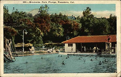 e Pasadena, California Original Vintage Postcard ()