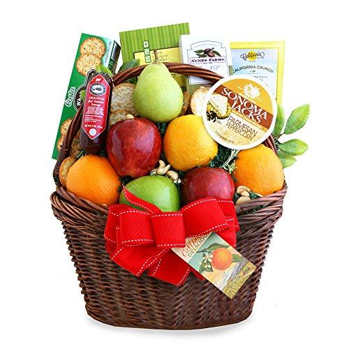 California Delicious Bountiful Fruit Gift Basket by California Delicious