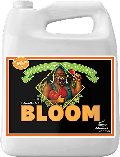 Advanced Nutrients 1201-15 Bloom pH Perfect Fertilizer, 4 Liter, Brown/A (Nutrients Soil Advanced)