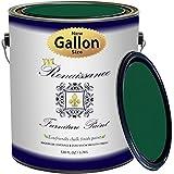 Renaissance Chalk Finish Paint - Viridian - Gallon (128oz) - Chalk Furniture & Cabinet Paint - Non Toxic, Eco-Friendly, Superior Coverage