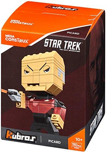 Zabawki konstrukcyjne MEGA Blocks Star Trek Kubros Mega Bloks Spock Building Kit New