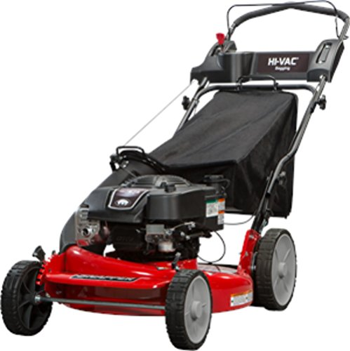 Snapper P2185020 / 7800980 HI VAC 190cc 3-N-1 Rear Wheel Drive Variable Speed Self Propelled Lawn Mower with 21-Inch Deck and ReadyStart System and 7 Position Height-of-Cut (Best Commercial Walk Behind Mower For Hills)