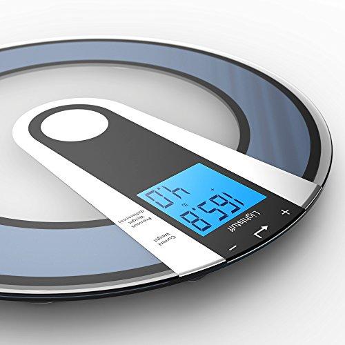 Lightstuff Bathroom Scale   Now Before Weight Comparison   Bonus BMI Calculator   Big Display   Step ON Technology. Bathroom Scale   Now Before Weight Comparison   Bonus BMI