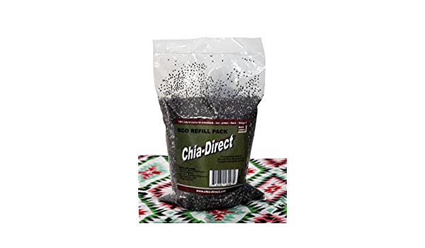 Amazon.com : Semillas naturales de chia, sin OGM 12oz : Grocery & Gourmet Food