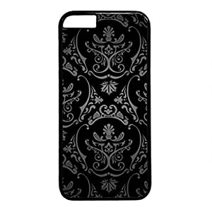 iCustomonline Black Pattern Hd Designs PC Protective Case Cover for iPhone 6 Plus (5.5 inch) by mcsharks