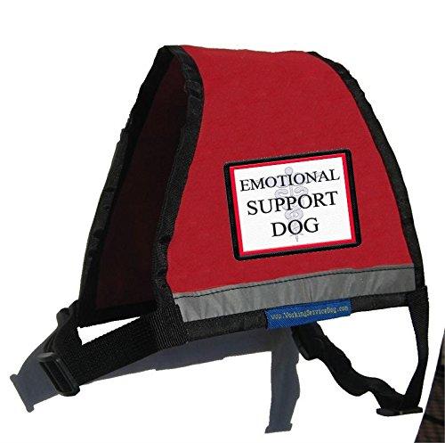 Reflective Emotional Support Dog Vest