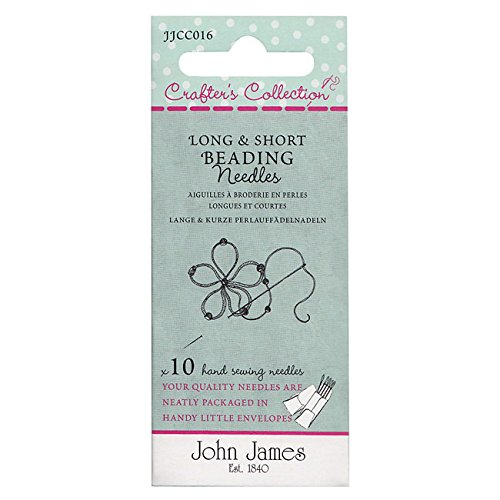 Crafter's Collection Long And Short Needle Assortment - Sizes 10 & 12 - 10 Pack